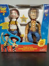 Toy Story 2 Woody and Jessie Interactive Buddies Talking Action Figures