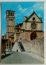 Assisi The St Francis Basilica Postcard (P287)