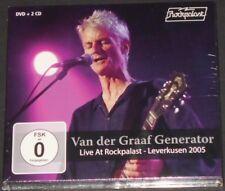 VAN DER GRAAF GENERATOR live at rockpalast 2005 GERMANY DVD + 2-CD new sealed