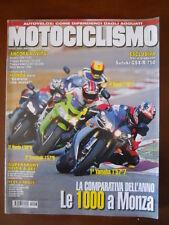 MOTOCICLISMO n°3 2004 Ducati 749S vs Honda CBR600RR vs Kawasaki ZX-6R  [P69]