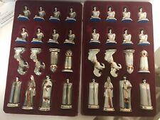 U.S.S.R Kislovodsk Porcelain Chess Set, (New Old Stock)