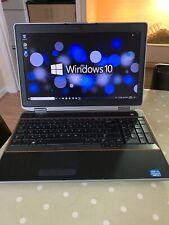 Dell Latitude E6520 Laptop,i5@2.5ghz,4gb Ram,250gb Hdd,win 10