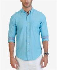 Nautica Classic Fit Oxford Shirt Calypso Blue Mens Size XXL New