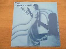 "The J. Geils Band – Angel In Blue  Vinyl 7"" Single UK 1982 New Wave EMI - EA138"