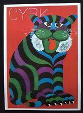 Hilbert Hilscher - CYRK 1971 Autherised Reproduction Polish Pop Art Poster