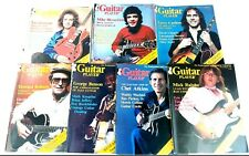 Vtg 1979 Guitar Player Magazine Lot of 7 Chet Atkins David Gilmour Mark Knopfler