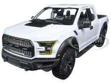 2017 FORD RAPTOR PICKUP TRUCK WHITE 1/24 DIECAST CAR MODEL BY MAISTO 31266
