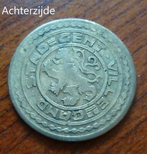 1 frank noodgeld Gent 1915 (Albert I)