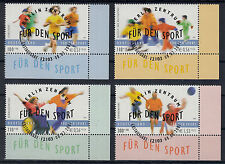 6022 ) Germany 2001 Sports Aid / DISABLED ATHLETS / SPORT IN SCHOOLS....
