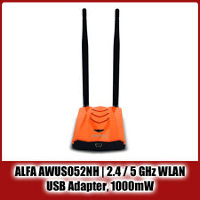 ALFA Networks AWUS052NH   2.4 / 5 GHz, USB WLAN Adapter, 300 MBit, Ralink RT3572