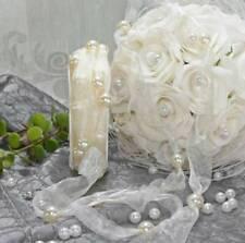 -,60€//m Perlen Girlande Kette Hochzeit Dekoration Dankeskarten DIY Geschenk