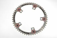 Vintage Campagnolo Bicycle Chainring Pantographed Rossin 53T 144BCD NOS