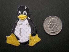 "Adafruit Linux ""Tux"" Penguin - Skill badge, iron-on patch [ADA553]"