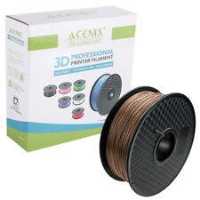 Acenix ® Madera PLA filamento de impresora 3D 1.75 mm 1 kg filamento de carrete para impresión 3D