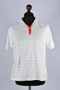 Ladies Burberry Golf Short Sleeve Polo T-Shirt Size L