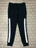 TOMMY HILFIGER MENS UK S NAVY TAPE FLEECE JOGGERS JOGGING BOTTOMS DESIGNER