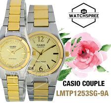 Casio Couple Watch LTP1253SG-9A MTP1253SG-9A