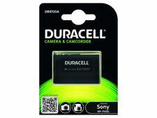 Batteries Duracell pour appareil photo et caméscope Sony sans chargeur