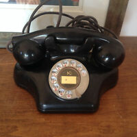 Vintage Kellogg Ashtray Rotary Dial Telephone,Phone,Antiques,Kustom,Play Theatre