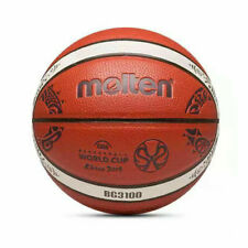 Molten Bg3100 #7 Pu Leather Men's Basketball Sports Training Ball w/Bag&Pin