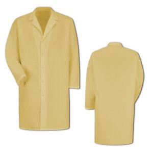 Regent Gripper-Front Spun Polyester Pocketless Lab Coat