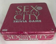 Sex and The City Trivia Game in Special Tin Christmas Party Adult Fun