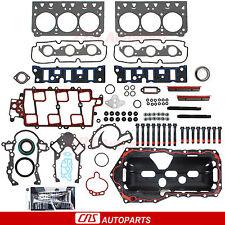 GM 3.8L FULL GASKET SET+BOLTS 2ND DESIGN VIN K V6 ENGINE 1997 98 99 00 01 02 03
