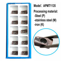 High quality IRON ROOT 10PcsAPMT1135PDER-DG 2115 CNC Carbide For stainless steel