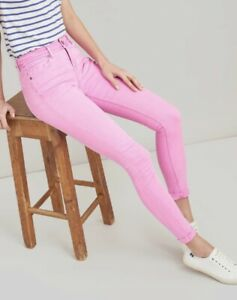 Joules Monroe Pink Skinny Stretch Jeans, new with tags