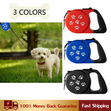 26 FT Dog Leash Tangle-Free Heavy Duty Retractable with Anti-Slip Handle