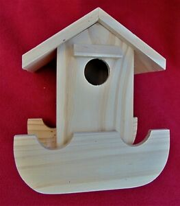 BRAND NEW BIRD HOUSE ~ READY FOR CUSTOM PAINTING BY YOU ~ WOODEN