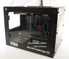 Makerbot Replicator 2/2X, FlashForge Creator X 3D Printer Enclosure by TabSynth