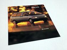 1991 Toyota Previa Brochure - January to July 1990 Production