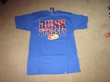 KANSAS JAYHAWKS basketball Dunk Dynasty tee T -shirt -Small-NWT