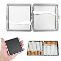 Leather Cigarette Case Tobacco Holder Pocket Box Storage For 20Pcs Cigarettes