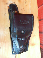 Vintage Don Hume Black Leather Police Duty Glock Gun Holster H738 SH No. 5M