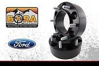"Ford F-150 (04-14) Wheel Spacer Kit - 2 @ 2.00"" & 2 @ 1.50"" by BORA - USA Made"