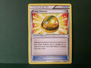 Pokemon Ancient Origins Lucky Helmet Trainer Single Card Uncommon