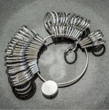 New 36pcs Metal Ring Sizer Professional Jeweler's Quality Universal US & MM Size