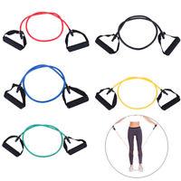 Latex Elastic Resistance Band Pilates Tube Pull Rope Gym Yoga 'Fitness Equipment