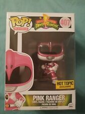 Pink Ranger #407 Hot TOpic Exclusive Power Rangers Funko PoP