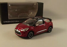 Citroën DS3 Cabrio Rouge - Collection 3 Inches - Norev