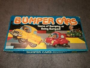 1987 Bumper Cars Parker Brothers Family Board Game Ex Condition Complete