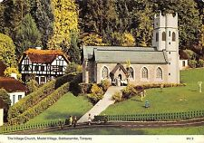 BR92037 the village church model village babbacombe torquay   uk