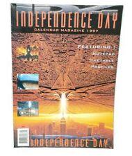 Independence Day Calendar Magazine 1997 Movie