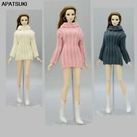 "Kids Toy Knitted Woven Tops Clothes Sweater For 11.5"" Doll Clothes For Blythe"