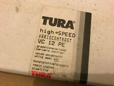 """TURA Black and White Paper, part used box, 20"""" x 24"""""""