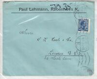 Denmark 1923 40 Ore Commercial Postal History Cover J4054