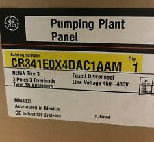 GE, CR341E0X4DAC1AAM, PUMPING PLANT PANEL, NEW MATERIAL