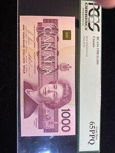 Canada $1000 BC-61b PCGS 65PPQ